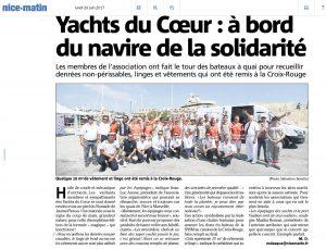 Article presse : 2017-06-26 - Yachts du Coeur
